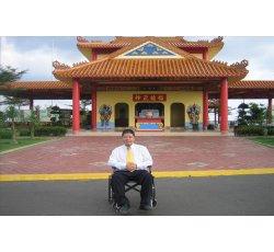 李德荣老师亲自盘线定位而成 的 大伯公庙